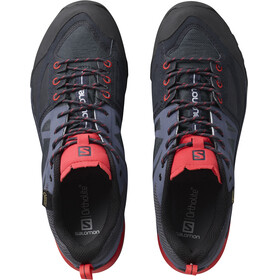 Salomon X Alp SPRY GTX - Calzado Mujer - gris/rojo